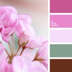 2015, color lila, color rosado vivo, color verde pantano claro, colores para la decoración, elección del color, matices de color rosado, matices de colores pastel, paletas de colores para decoración, paletas para un diseñador, púrpura pálido, rosado, tonos rosados.