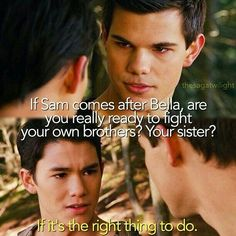Breaking Dawn part 1 ~ Jacob and Seth Twilight Saga Quotes, Twilight Saga Series, Twilight Edward, Twilight New Moon, Twilight Series, Twilight Movie, Funny Twilight, Edward Bella, Movie Quotes