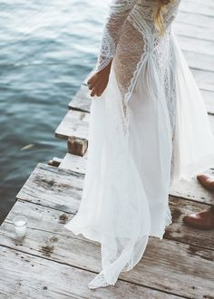 Real bride Valentina in Grace Loves Lace Inca dress xx