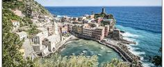 Considered one of the most scenic stretches of coastline in the world, Cinque Terre has become a must see destination with abundant hiking trails, excellent local cuisine, and an old world charm. Italy Vacation, Vacation Destinations, Italy Travel, Travel List, Travel Deals, Dream Vacations, The Places Youll Go, Places To Go, Saint Jean Baptiste