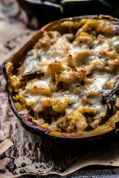 recipe for apple, mushroom and sausage stuffed acorn squash. The perfect fall comfort food weeknight meal. Makes great leftovers. Sausage Stuffed Acorn Squash, Stuffed Mushrooms, Apple Recipes, Fall Recipes, Pork Recipes, Recipies, Acorn Squash Recipes, Butternut Squash, Apple Sausage