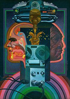 "c86: "" Taken from Playboy magazine, 1973 Artwork by Wilson McLean """
