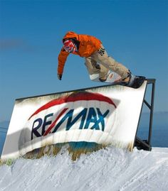 Skiing with REMAX is the only way