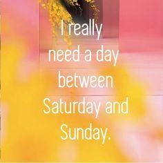 Sunday mood….