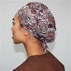 Scrubs Pattern, Scrub Hat Patterns, Hat Patterns To Sew, Sewing Patterns Free, Easy Patterns, Free Sewing, Hair Scrub, Green Scrubs, Skin And Bones