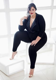 Plus-size, curvy, full-figured or fat — these confident, sexy women don't care much for labels