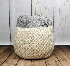 Oodles Basket Knitting Pattern