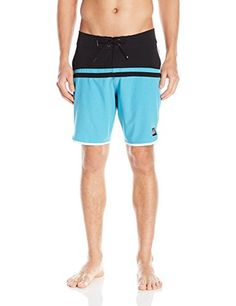 Quiksilver Mens Ag47 Stomp 19 Inch Boardshort Swim Trunk Hawaiian Ocean 40 >>> See this great product.