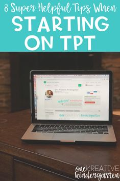 Are you new to the TpT side hustle? Have a store but don't know the basics? These 8 tips are so helpful when first starting your store. Teaching Plan, Teaching Strategies, Teaching Kindergarten, Teaching Tips, Teacher Tools, Teacher Hacks, Teacher Resources, Planning School, Teacher Planner