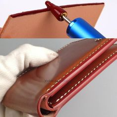 £3.87 GBP - 1Pc Edge Dye Oil Pen Applicator Belt Strap Painting Diy Leather Craft Top Tools #ebay #Home & Garden