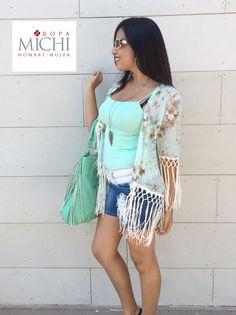 Michi presenta un outfit ideal para disfrutar esta mañanas calurosas,   Centro comercial Plaza Castillo Guacima Alajuela. 24380084 ex 2