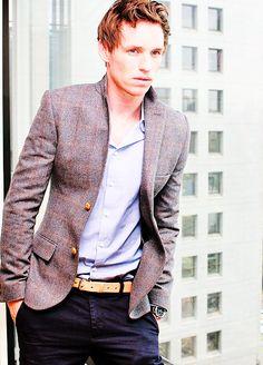Eddie Redmayne. Gorgeous.