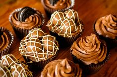 This is for all you chocolate lovers out there. Why not try some of our Lindt and white chocolate cupcakes.