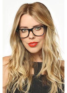 Norhaven Large Clear Wayfarer Glasses