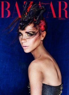VB on the cover of Harper's Bazar. Definitely NOT.