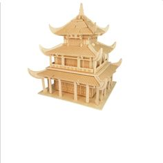 43.35$  Watch here - http://aiv26.worlditems.win/all/product.php?id=32804623418 - 2017 Hot 107 Pcs Wooden Chinese Ancient Architecture Yueyang Tower Bouwsteen Huis Baksteen Toy Kinderen Puzzle Speelgoed