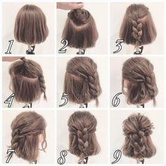 短髮女必學3款簡單造型!每朝5分鐘極速靚靚出門口