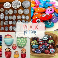 Inspirational rock painting | aren t these the cutest inspiration patterned rocks by maria