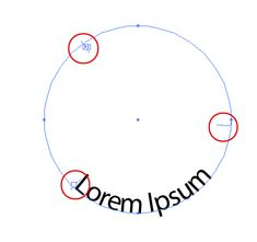 Making text follow the inside of a circle path in Illustrator