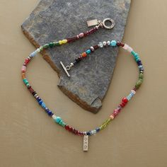 Sundance RAINBOW OF COLOR NECKLACE