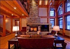 fireplace/ tv combo