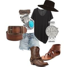 """""""Festival / Casual Look"""" by linda-slade on Polyvore"""
