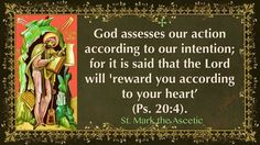 St. Mark the Ascetic ~ 06/17/17