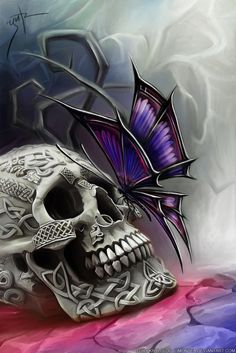 Butterfly of Death by ~LimonTea on deviantART