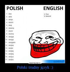 Oh so very true ! Polish To English, Learn Polish, Polish Language, Funny True Quotes, Its Time To Stop, Funny Images, Poland, Haha, Sayings