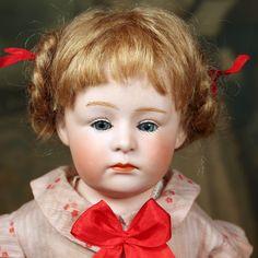 Heubach Pouty Shoulder head sold by Signature Dolls. #DollShopsUnited