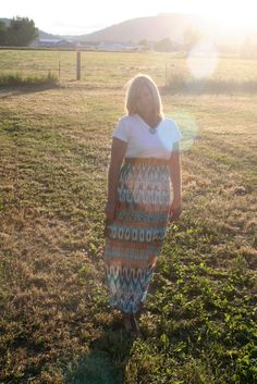 Easy DIY Maxi Dress in Fifteen Minutes or Less | The Renegade Seamstress