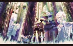 Shingeki no Kyojin » Fanart + <3 » Wallpaper | Levi's Special Operations Squad afterlife | #petra #oluo #eren #levi #gunther #eld