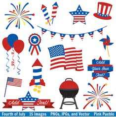 free fourth of july clipart clip art free and clip art pictures rh pinterest com clipart 4th of july clipart 4th of july