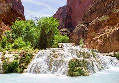 Beaver Falls - Havasuupai Falls, Grand Canyon, Arizona ---> Looking forward to exploring these beautiful waterfalls!
