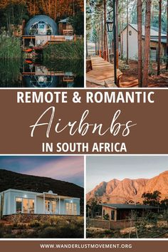 Escape to remote cabins, bungalows, and cottages with these romantic Airbnbs in South Africa. Each one is tucked away in the most beautiful parts of the country and is perfect for a romantic getaway for couples! | South Africa Travel | Where to Stay in South Africa | #southafrica #travel #airbnb #romanticgetaway #coupletravel via @wanderlustmvmnt