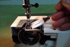 Nähstaub entfernen - Wie pflege ich meine Nähmaschine