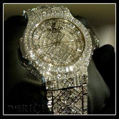 Hublots Watch- Worlds most expensive watch.Worth five million.