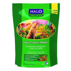 Halo, Purely For Pets Dry Dog Vegan Garden Medley, Garden Recipe 64 oz (pack of 1) *** Check out the image by visiting the link. (This is an affiliate link and I receive a commission for the sales) #DogLovers