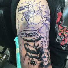 awesome Top 100 Dead Pool Tattoo | Love Deadpool? Love Deadpool tattoos? Watch me on the Revolt Tattoos Live Stream now at Revolttattoos.com today as I take on this  | http://4develop.com.ua/top-100-dead-pool-tattoo/ Check more at http://4develop.com.ua/top-100-dead-pool-tattoo/