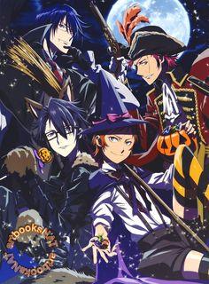 K: Project - Reisi, Mikoto, Saruhiko & Misaki
