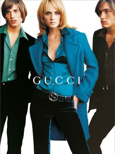 Introducing the 25 most memorable fashion moments of the '90s: Tom Ford's Gucci Revival (1995) #gucci #vintage