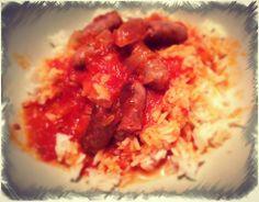 Rougail de Saucisses au Cook'in - La Cuisine de mes Envies