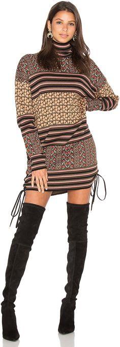 RACHEL ZOE Fran Sweater Dress