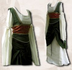 *Anfertigung* Mittelalter Gewand Kleid von Scattered Skills auf DaWanda.com