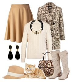 """""""Designer Scervino"""" by hastypudding ❤ liked on Polyvore featuring Ermanno Scervino, Carven, Burberry, Hat Attack, Topshop, women's clothing, women's fashion, women, female and woman"""