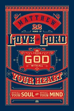 Inspirational Bible verses make stunning typography posters – www.posterama.co