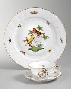 Rothschild Bird Dinnerware - Neiman Marcus