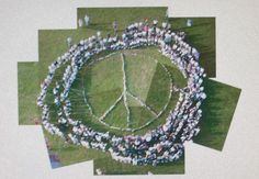 School community peace service....pinwheels for peace