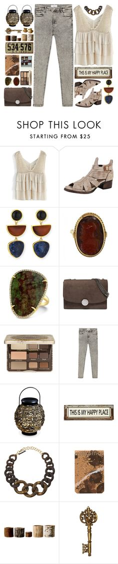 """""""My happy place"""" by doga1 ❤ liked on Polyvore featuring Chicwish, Steven by Steve Madden, Lizzie Fortunato, Marc Jacobs, Too Faced Cosmetics, MANGO, Thos. Baker, Poncho & Goldstein, Alisha.D and Postalco"""