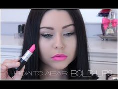 How to Wear a Bold Lip Color - MAC Candy Yum Yum ♡